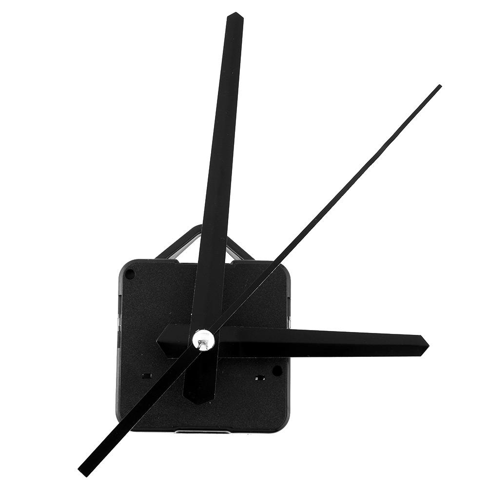 Black Needles Wall Clock Movement Parts Replacing Tools