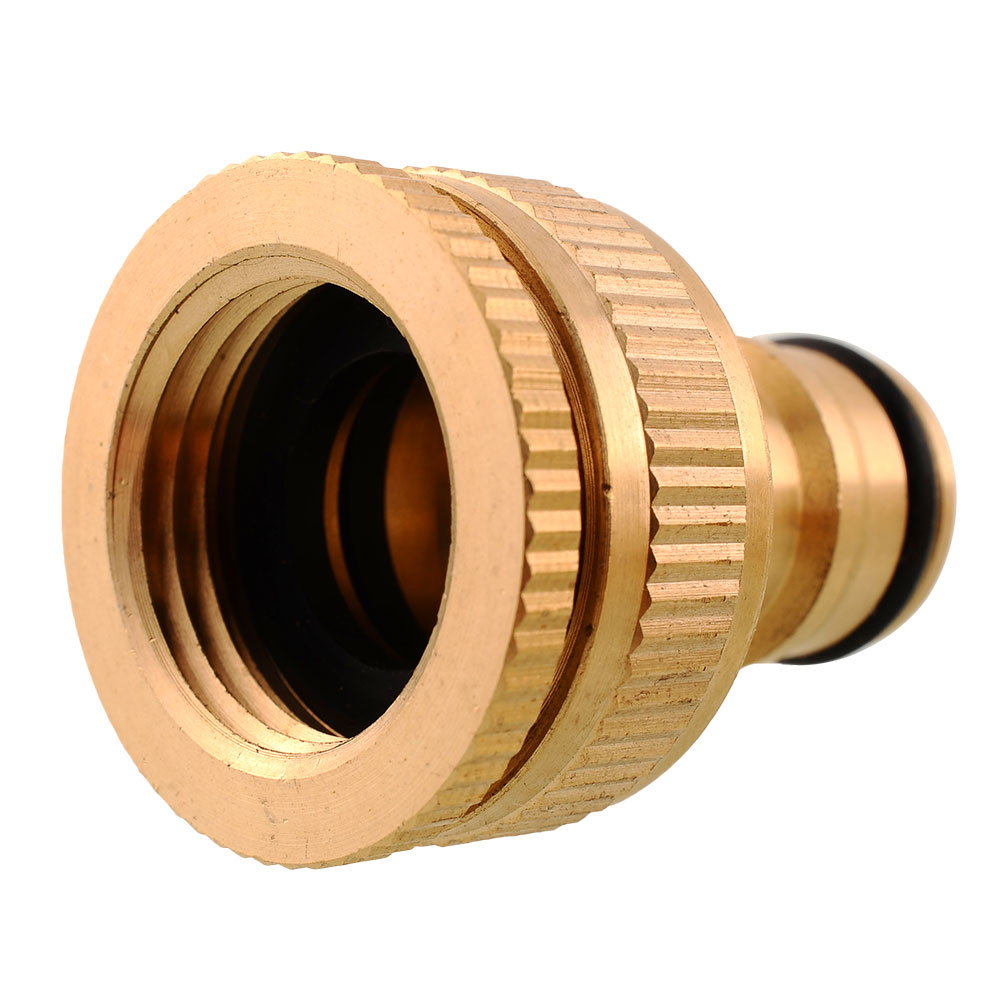 Copper connecting pipe brass faucet hose water pipe tap for Copper pipe for water